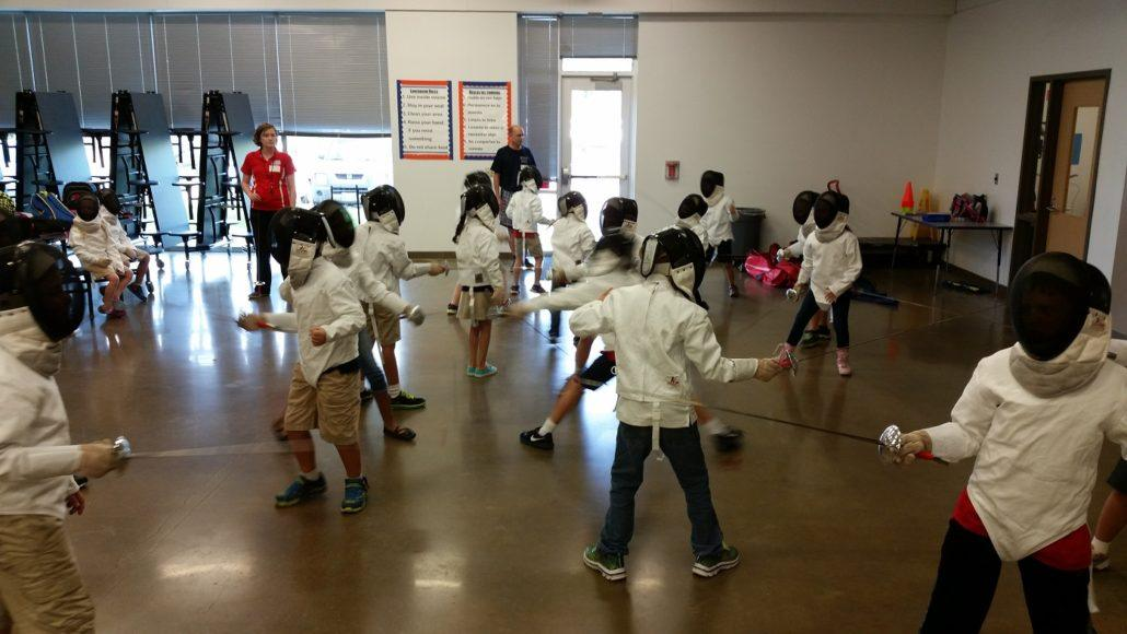 Fencing at Herod Elementary