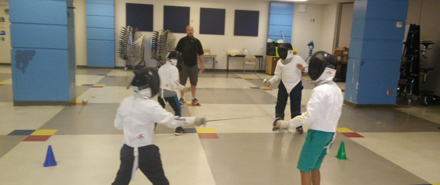 Fencing at Briarmeadow