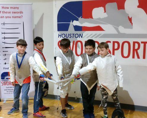 Y10 winners and swords