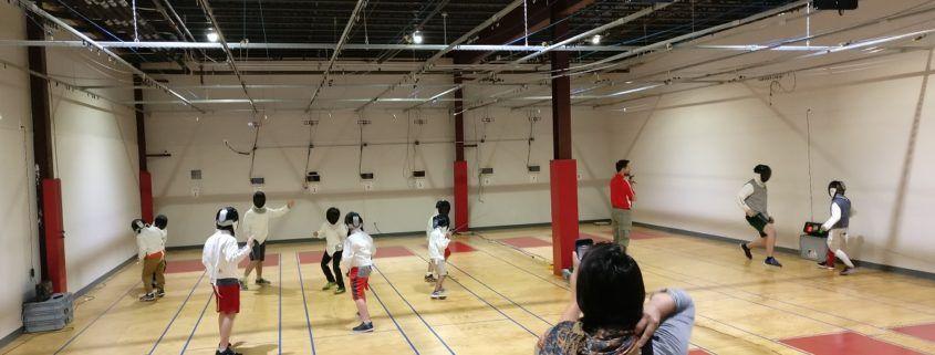 May 2017 School championship fencing