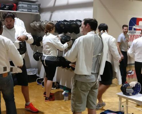 New fencers suit up at the grand opening