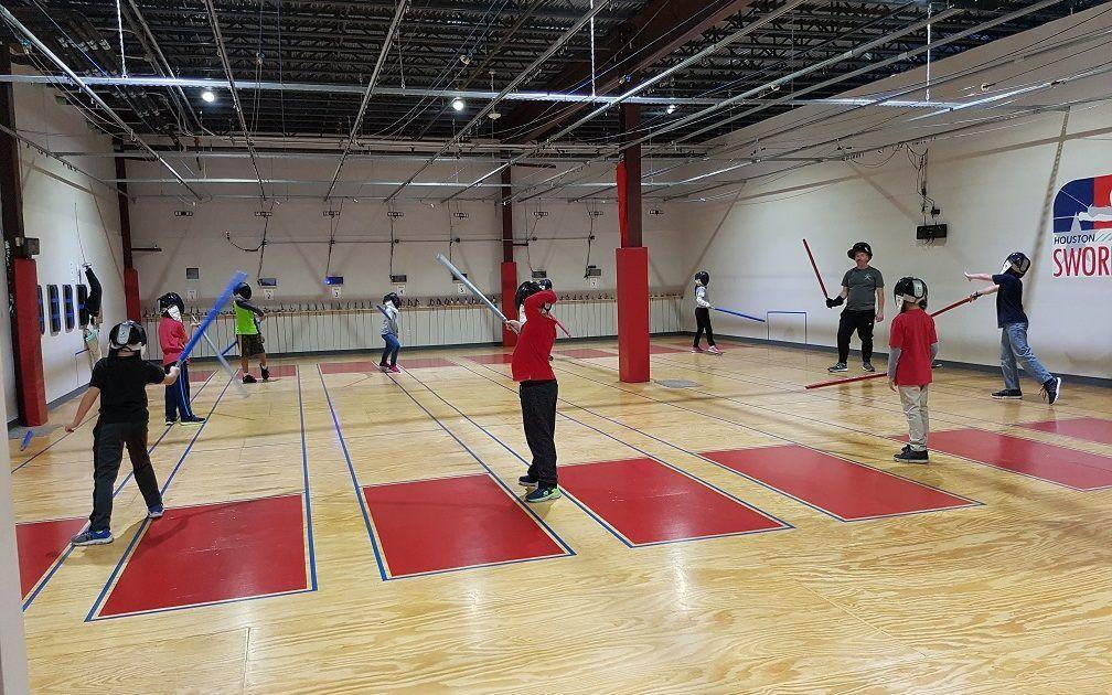 Light Saber Combat: Houston's Jedi in Training | Houston