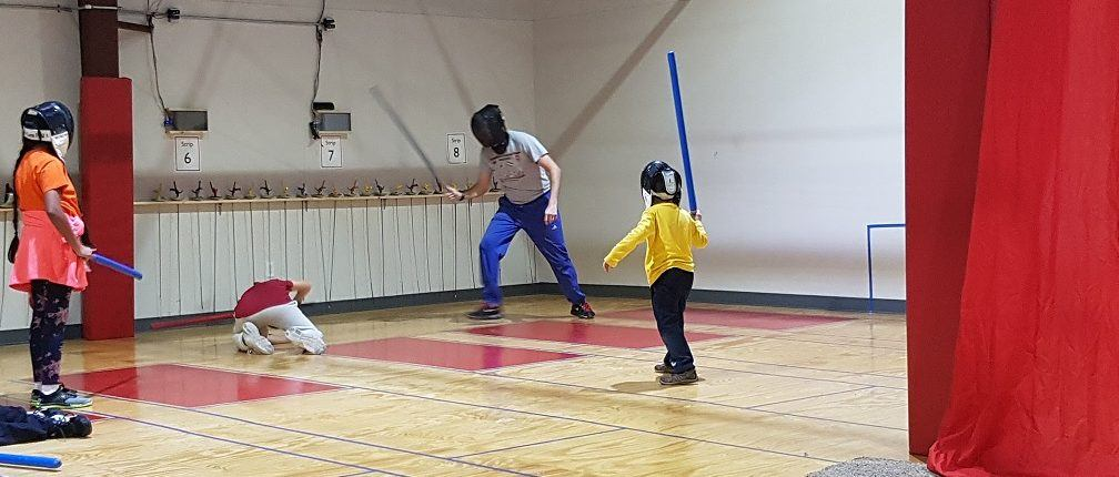 We Wrapped Up The Year With Winter Camps Our Youth Camp Was A Full Day Fencing In Morning And Stage Combat Evening