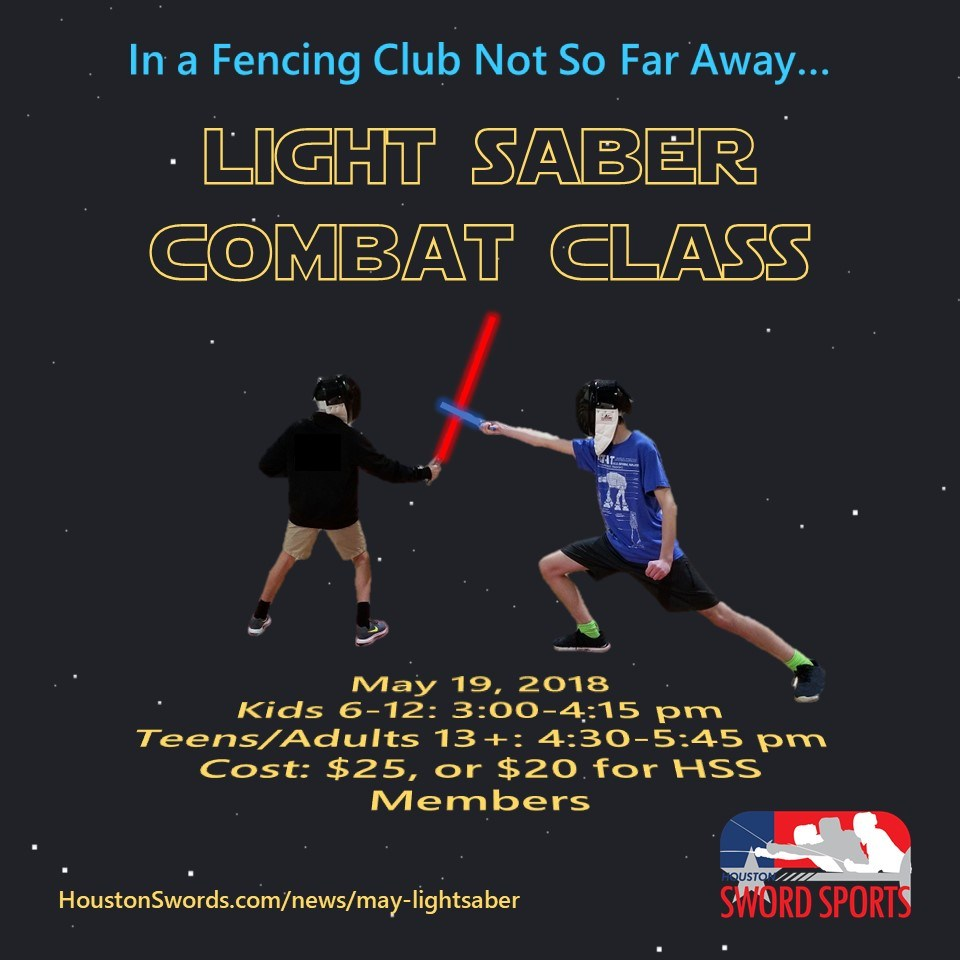 Learn to fence with a lightsaber in time for the new Han Solo movie!