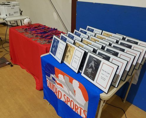 fete de lune 2019 Awards table